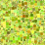 Autumn color mosaic background - stock illustration