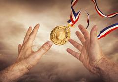 Catch Your Golden Award Stock Photos