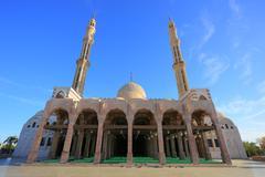 Mosque Al Mustafa Stock Photos