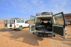 Jeeps Safari - stock photo