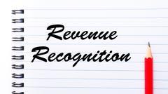 Revenue Recognition - stock photo