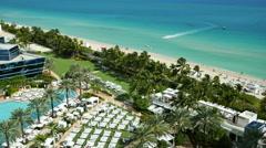 Fontainebleau Miami Beach 3 Stock Footage