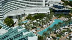 Fontainebleau Miami Beach 2 Stock Footage