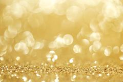 Shiny glitter bokeh background Stock Photos