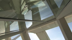 City of Arts and Sciences in Valencia (Museu de les Ciències) Stock Footage