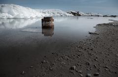 Arctic scene Stock Photos