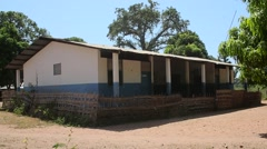 Hospital Guine conacry  native village BOKE Stock Footage