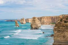 The Twelve Apostles, Victoria,Australia Stock Photos