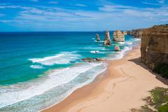 the Twelve Apostles, Victoria,Australia - stock photo