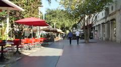 Lincoln Road Miami Beach - stock footage