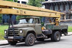The old Soviet equipment. Stock Photos