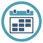 Month Binder Icon - stock illustration
