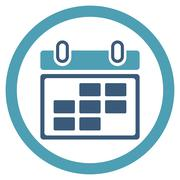 Month Appointment Icon - stock illustration