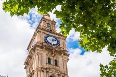 Clock Tower and clocks of the Melbourne General Post Office - stock photo