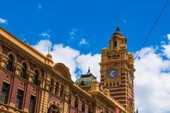Flinders Street Station Stock Photos