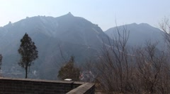 Great Wall of China View Stock Footage