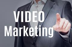 Video Marketing Kuvituskuvat