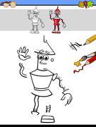 Education task for preschool kids Stock Illustration