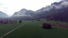 Stock Video Footage of flight over austria, tirol
