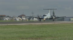 Brazilian military plane Stock Footage