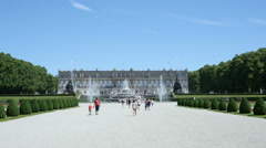Herrenchiemsee Palace Stock Footage
