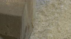 Aluminium phosphate 4K Stock Footage