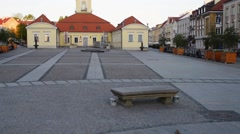 Podlachia Museum in Bialystok Stock Footage