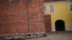 Ordensburg castle in Olsztyn, Poland Stock Footage