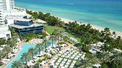 Fontainebleau Miami Beach Stock Footage