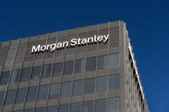 Morgan Stanley Building and Logo Kuvituskuvat