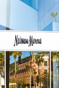 Stock Photo of Neiman Marcus Store Exterior and Logo
