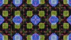 Neon Patterns Abstract  - stock footage