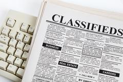 Classified Ad - stock photo