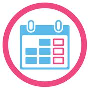 Stock Illustration of Appointment Week Icon
