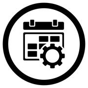 Appointment Adjustment Icon - stock illustration