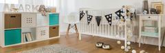 Stock Photo of Newborn room design