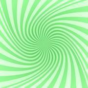 Green spiral pattern background - stock illustration