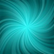 Dark cyan twirl pattern background Stock Illustration