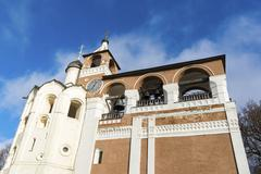 Stock Photo of Belfry Saviour Euthymius monastery in Suzdal was built in the 16th century, t