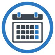 Appointment Flat Icon - stock illustration