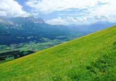 Alps in Austria Stock Photos
