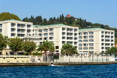 Apartments at the Bosphorus - stock photo