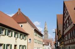 Stock Photo of Medieval town