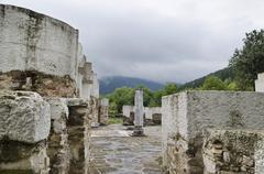 Stock Photo of The Round Church in the old Bulgarian capital Veliki Preslav