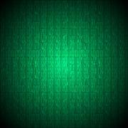 Binary computer code - stock illustration
