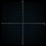 Vector illustration of mathematics system of coordinate - stock illustration