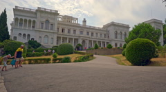 Russia, Crimea, Livadia Palace Stock Footage