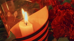 Russia on June 22 day of memory and grief - stock footage