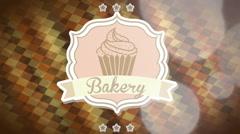 Bakery design, Video Animation Stock Footage