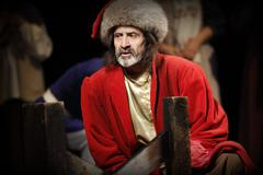 Pushkin, Shakespeare, Chehov, Russian theater, actor, director, actress, come - stock photo